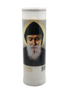 Devotional Candle (7 Day): St Charbel (CA60W78)