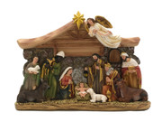 All-In-One Resin Nativity Scene 16x24cm (NS10193)