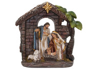 All-In-One Resin Nativity Scene 19x20cm (NST10132)
