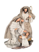 All-In-One Resin Nativity Scene Canvas 25cm (NS10192)