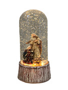 LED Nativity Snow Dome 20cm(NS10184)