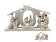 "LED Nativity ""JOY"" 11x19cm (NST10185)"