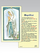 Holy Card:  Our Lady Lourdes/Magnificat (Each)(HC8-003e)