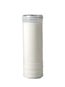 Bulk Buy: Devotional/Sanctuary Candle (7 Day): White (CA60W)(Box 30)