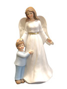 Resin Angel 18cm:  Guardian Angel with Boy(ST6200)