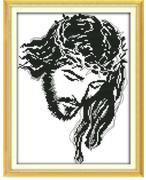 Cross Stitch Kit: Head of Christ: Crown of Thorns (KXR309)