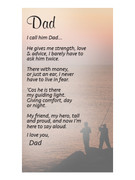Holy Cards (each): Dad(HC7160e)