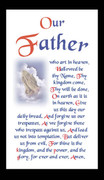 Holy Cards (each): Prayer: Our Father (HC7125e)