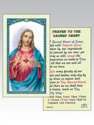 Holy Card(each): 800 SERIES - Sacred Heart of Jesus (HC8-010e)