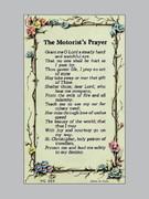 Holy Verse Cards (each): Motorist's Prayer (HCVC223e)