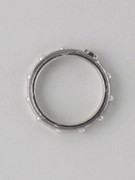 Rosary Finger Ring with bearing(turns): 17mm (RR78)