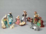 Large Nativity Set 40cm 10 Piece (NS4011)