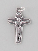 Chain Size: Silver Cross Jesus/Mary (CR9228S)