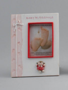 Resin Photo Frame: Baby Girl