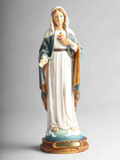 Resin Statue: Immaculate Heart Mary 30cm (STR1202)