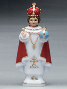 Plastic Statue, INFANT OF PRAGUE 15cm