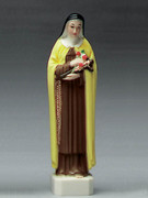 Plastic Statue- ST THERESA 15cm