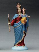 Plastic Statue Our Lady Help Christians 15cm