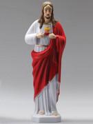 Plastic Statue, Sacred Heart Jesus 25cm(ST50801)