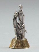Magnetic Metal Statuettes: HOLY FAMILY