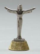 Magnetic Metal Statuettes:  RISEN CHRIST
