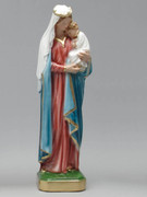 Plaster Statue: Mother and Child 30cm (ST3006)