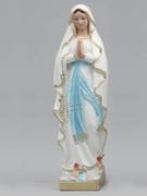 Plaster Statue, Our Lady of LOURDES 40cm (ST4008)