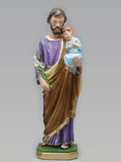 Plaster Statue, St Joseph 40cm (ST4016)