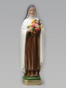 Plaster Statue: St Teresa 30cm