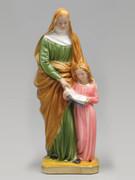 Plaster Statue St Anne 40cm
