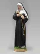 Plaster Statue: St Rita 30cm