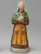 Plaster Statue St Bernadette 30cm