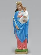 Plaster Statue: O.L. Help Christians 30cm