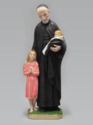 Plaster Statue: ST VINCENT DE PAUL 30cm