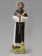 Plaster Statue: St Martin de Porres 30cm(ST3052)