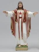 Plaster Statue Sacred Heart MONTMARTRE 30cm