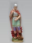 Plaster Statue: St George 30cm