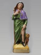 Plaster Statue: St Rocco 30cm