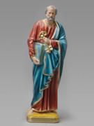 Plaster Statue: St Peter 30cm
