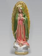 Plaster Statue: O.L. Guadalupe 30cm (ST3066)
