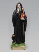 Plaster Statue: St Benedict 35cm (ST3070)