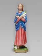 Plaster Statue: St Maria Goretti 30cm