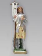 Plaster Statue: St Joan of Arc 23cm
