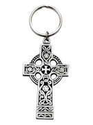 Metal Keyring: CELTIC CROSS
