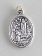 Silver Oxide Medal: O.L. Lourdes/Bernadette (ME02208)
