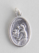 Silver Oxide Medal: St Anthony (ME02211)