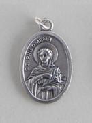 Silver Oxide Medal: St Philomena (ME02243)