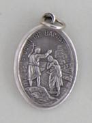 Silver Oxide Medal: St John the Baptist (ME02268)