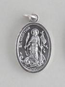 Silver Oxide Medal: St Martha (ME02272)