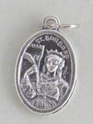 Silver Oxide Medal: St Barbara (ME02273)